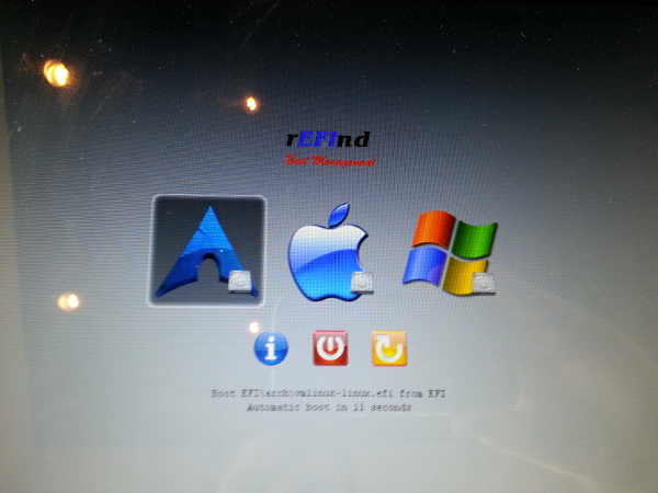 Triple booting mac, windows, and arch linux